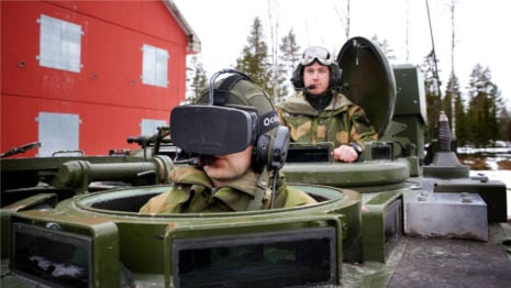 Norway army trials Oculus Rift for tanks