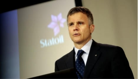 Statoil boss cancels Putin conference