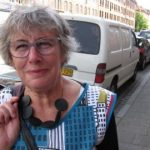 """After spending years working in Norway as a nurse, <b>Christine Ingelsson, 65 </b> didn't really want to come home. """"I think it's very nice. It's very easy to work with with them. They're very open, much more than Swedish people,"""" she says. Photo: Richard Orange"""