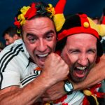 German knocked down after World Cup high