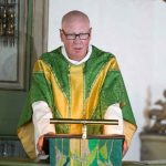 """Acting bishop Trond Bakkevig during a service in Oslo cathedral, said: """"It is not a fact that time heals all wounds. The 22nd of July changed all of us. The perpetrator shall not be allowed to deprive us of future and hope.""""Photo: Audun Braastad / NTB scanpix"""