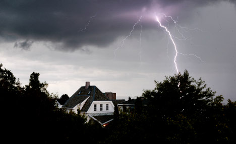 Summer storms may cause winter house fires