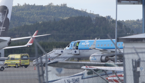 Ebola scare forces flight to land in Norway