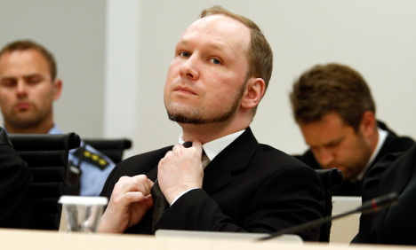 Breivik says father can't visit unless he's a fascist