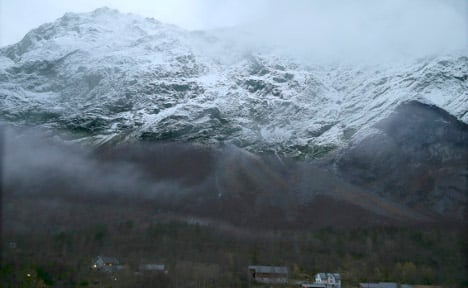 Avalanche update: Mount Mannen more stable