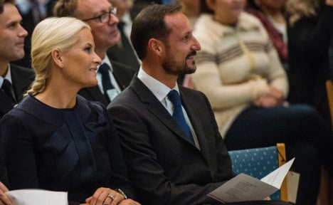 Crown Prince celebrates Norway's newest citizens