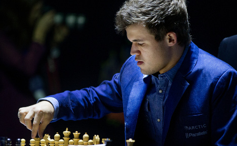 'I had a feeling today was the day!': Carlsen