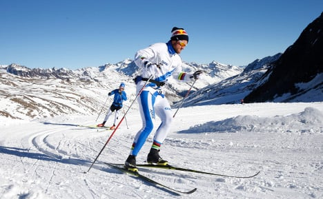 Catch Petter Northug's clothing while you can!
