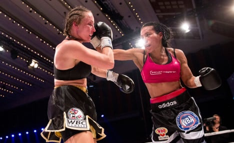 Cecilia Brækhus limps to 27th win in Denmark