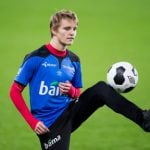 Odegaard to star in soccer computer game
