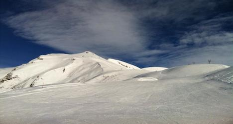Ski conditions in parts of Valais are good. Photo: Gillian Zbinden