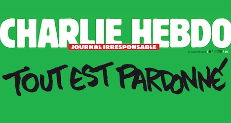 New Charlie Hebdo cover criticized in Norway