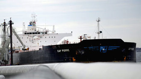 Norway oil exports down by more than half