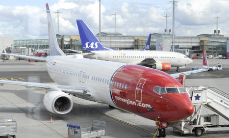 Norwegian posts first loss in seven years