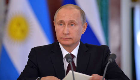 Norwegians disapprove of Putin most in world