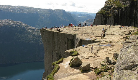 Norway's Pulpit Rock 'most spectacular' view