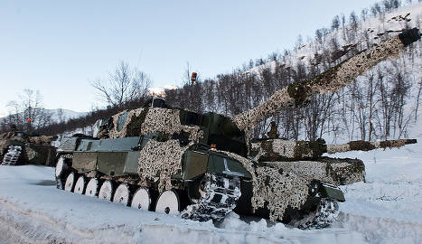 Norway boosts army spend on Russia threat