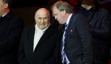 Norway FA to vote against graft-hit Blatter