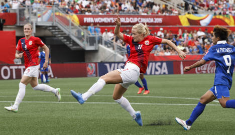 Norway trounce Thailand in World Cup opener