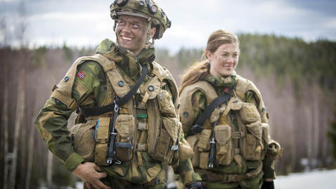 Most Norwegians worried about invasion: survey