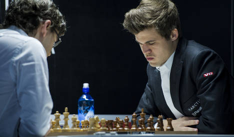 Chess genius Carlsen in crisis after fourth loss