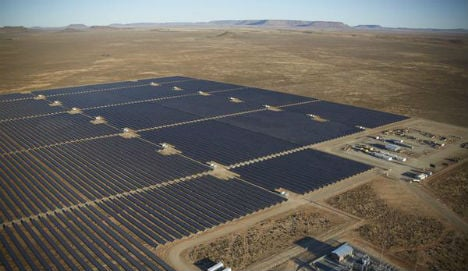 Norway's Scatec to build giant Africa solar plant