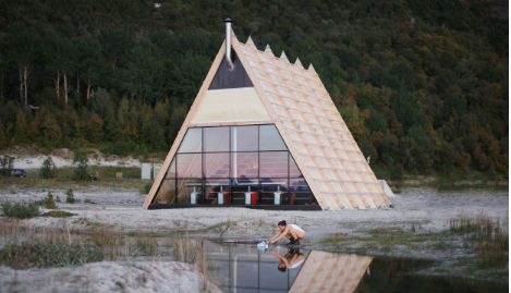 World's largest sauna opened in Arctic Circle