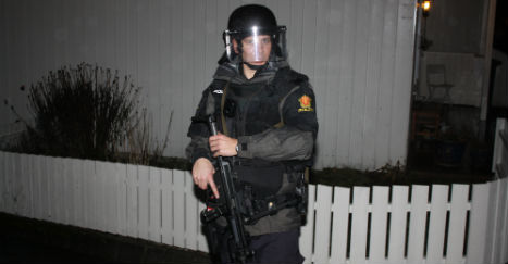 Norway Police fired just two shots last year