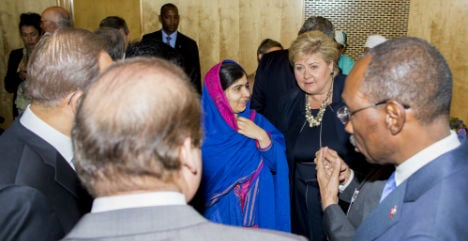 Sharif and Malala hold first meet in Oslo