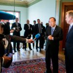 'The glaciers are melting', Brende warns Ban