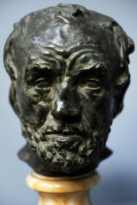 Rodin's 'The Man with the Broken Nose'. Photo: Scanpix