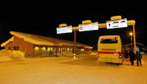 Syrians cycled Norway's Arctic border in winter