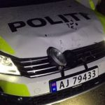 Norway man attacks police with angle grinder
