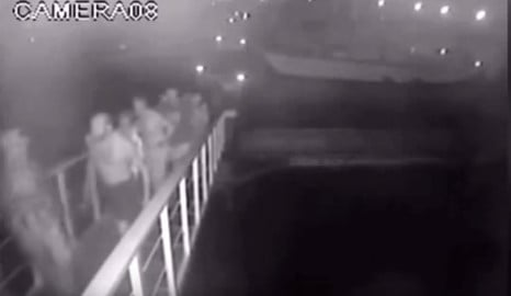 CCTV of Norway man kidnapped on Philippines