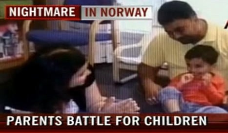 Norway foster care row becomes Indian theatre