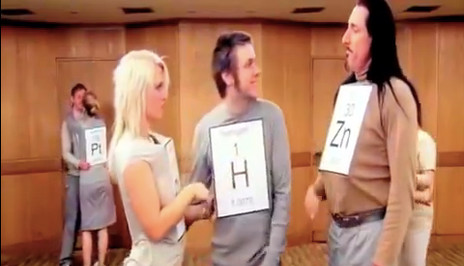 Oslo Uni's 'elements attract' video goes viral