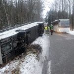 School bus crashes in southern Norway