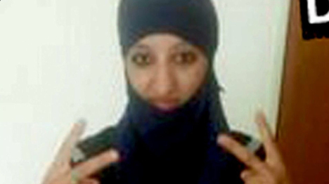 Who was France's first female suicide bomber?