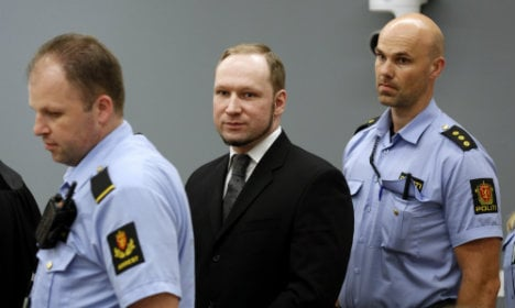 Breivik rights case may be heard in prison gym