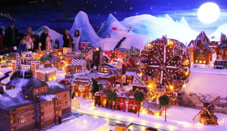 No record for Norway gingerbread town