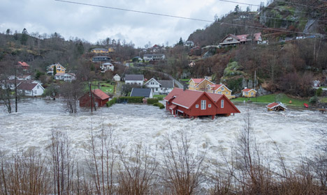 '200-year flood' ravages southern Norway