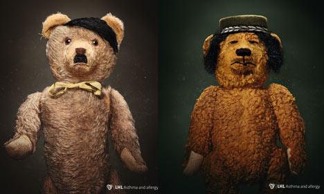 Norway ads use Hitler teddy to scare parents... about dust