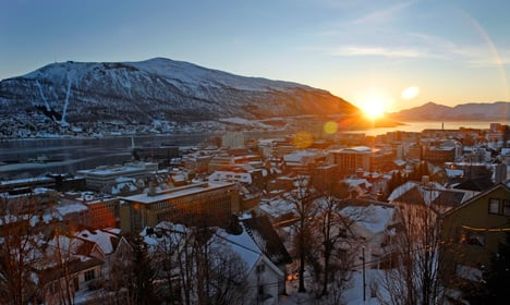 Tromsø residents see sun for first time in two months