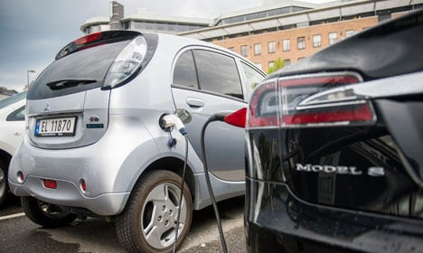 Norway's green cars win biggest market share