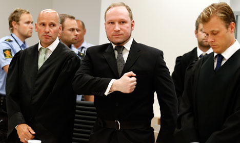 Breivik trial against state to take place in prison