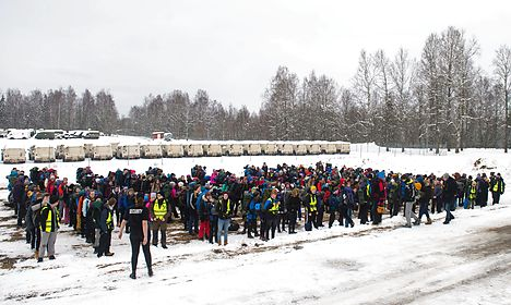 'Hell on Earth': Norwegian teens play refugees for a day