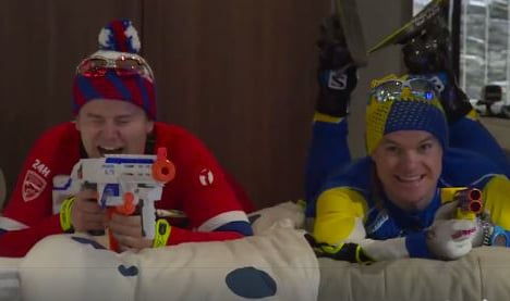 Skis, lycra and Ikea: 3.8m hits but is this video really funny?