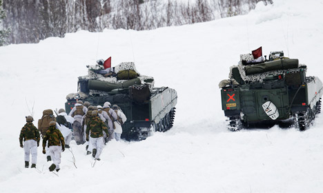 Norway soldiers fined for naked jogging prank
