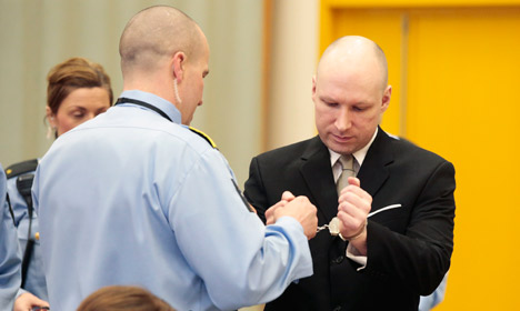 Norway to appeal Breivik human rights ruling