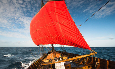All aboard! Nordic Viking ship ready for Atlantic voyage